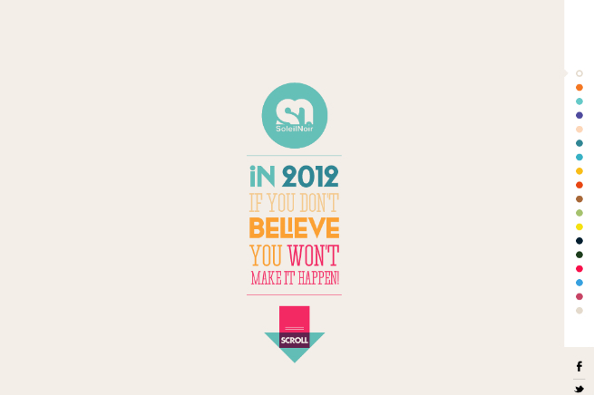 Soleil Noir 2012 | We believe in...