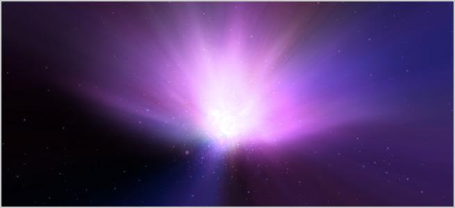 スクリーンセーバー「X-Galaxy」のイメージ画像