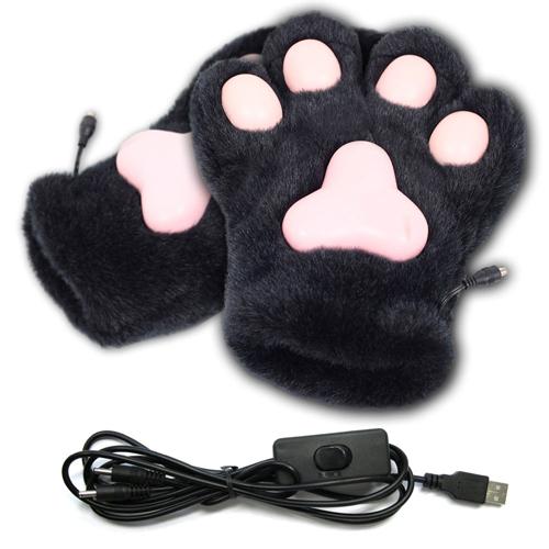 猫の肉球あったか手袋