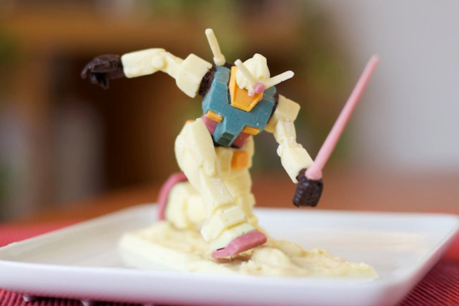 "1/144 CHOCOLATE GUNDAM ""VALENTINE ATTACK"""
