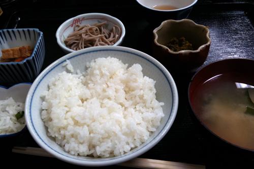 蕗味噌定食