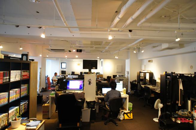 広いオフィス