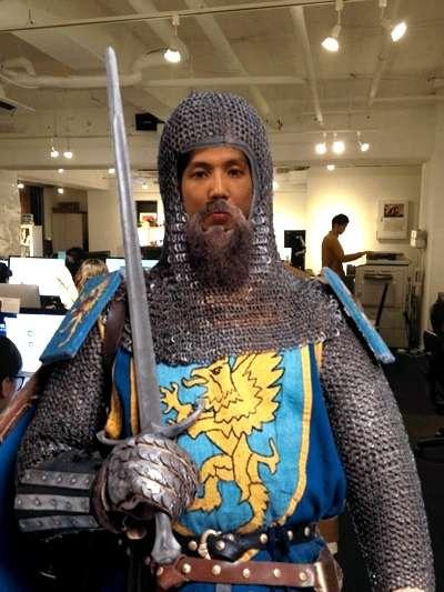 騎士になったよ