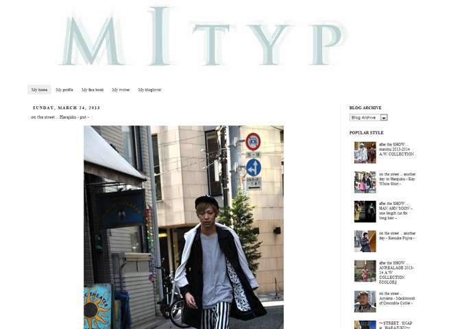 MItyp fashion street snap