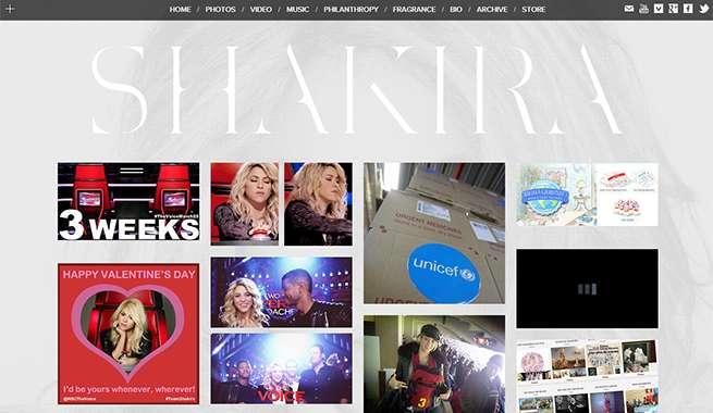 シャキーラ 公式サイト