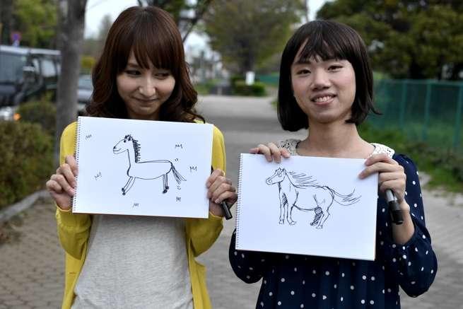 うん。まぁ、2人ともよく…描けてるんじゃないかな。