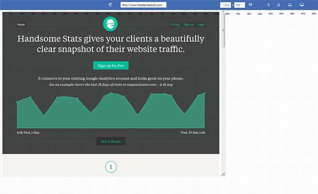 Responsive Web Design Test Tool