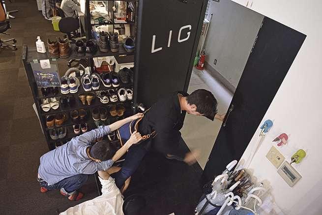 この悪ふざけで終電を逃した人が、実際にLIGにいます。