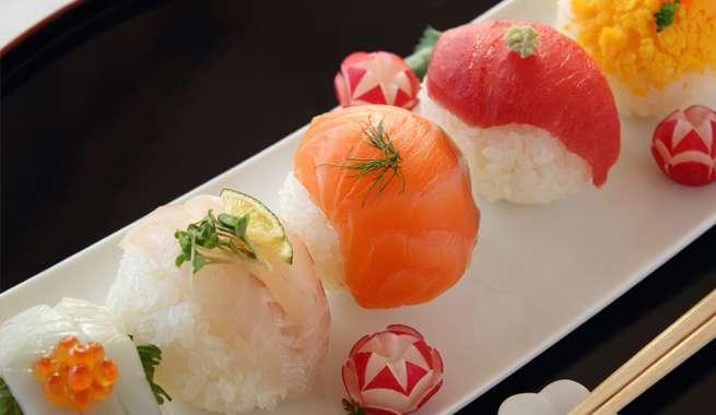 ネタと言えばお寿司。ネタは新鮮が一番。