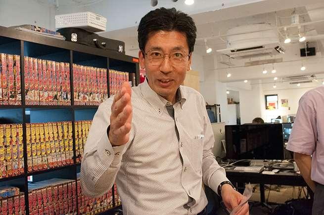 ショップKの店長、藤本さん
