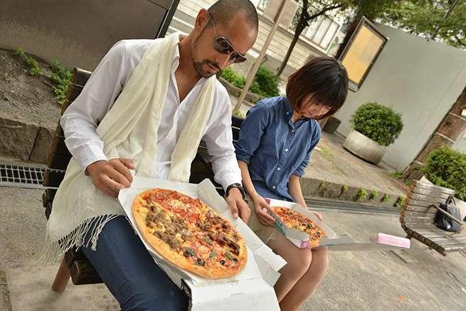 I wanna eat PIZZA