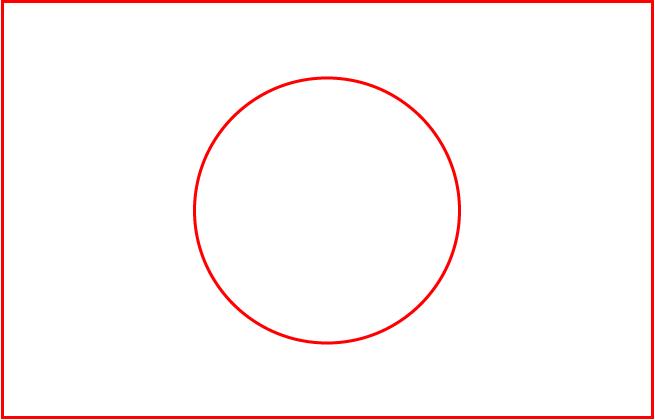 日の丸構図のイメージ