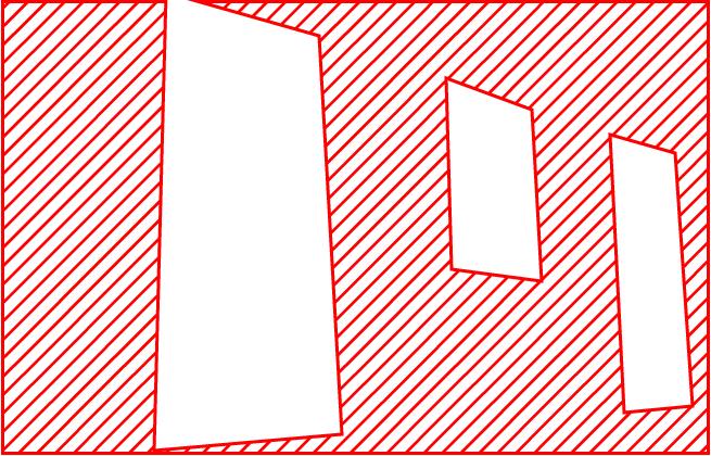 額縁構図のイメージ