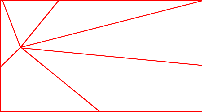放射構図のイメージ