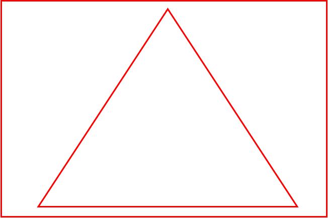 三角構図のイメージ