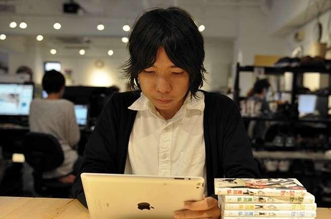 iPadは便利だよね。