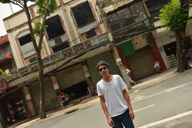 ベトナムはとても暑い国です。