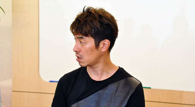 代表取締役の加藤さん 同じTシャツがほしいです