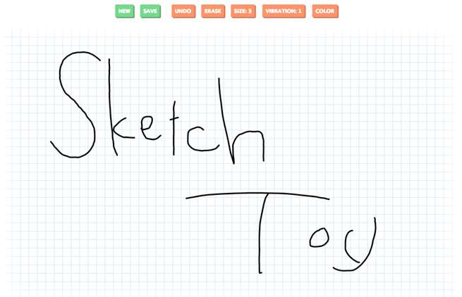 Sketch Toy