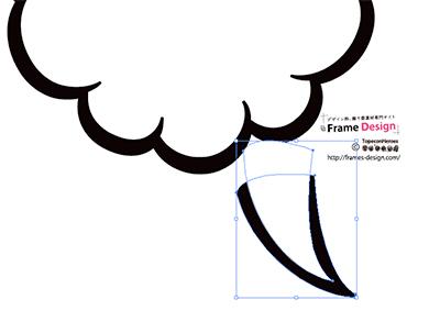 フレームデザイン使用例