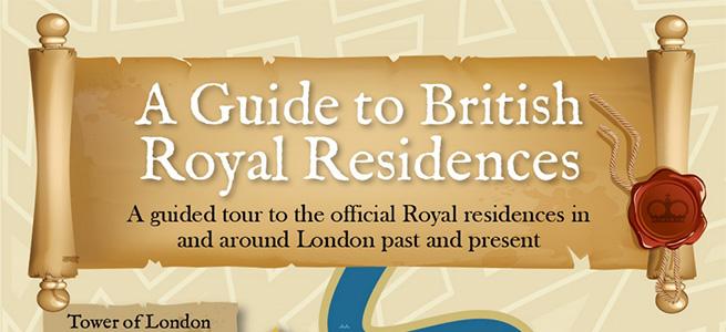 Royal residences in London
