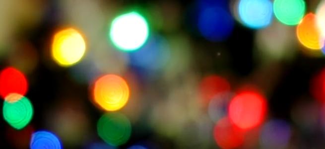 「orangeHD」のイメージ画像・淡くピンぼけした光の集合体
