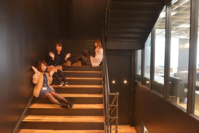 ※階段でふざけるのは危険なのでやめましょうね。