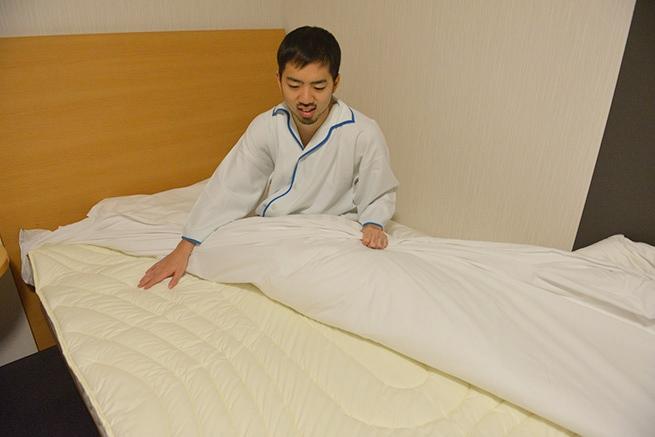 寝心地の良さの秘密