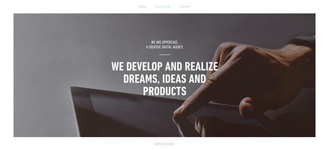 Uppercase - A Creative Digital Agency