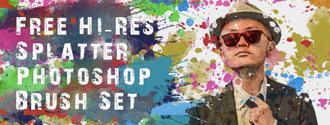 4_Free-Hi-Res-Splatter-Photoshop-Brush-Set