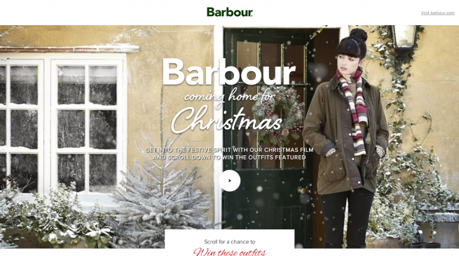 Barbour Christmas   Barbour Christmas