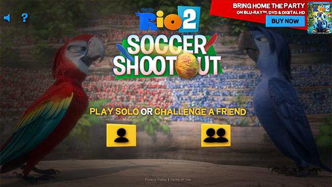 Rio 2 Soccer Shootout