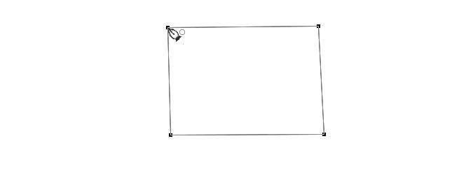 クローズパスの四角形を描くことができました
