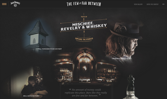 Jack Daniel's 'The Few and Far Between
