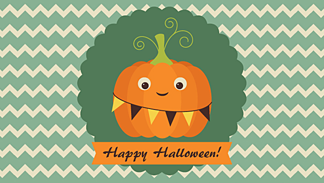 Create an Easy, Retro Pumpkin Card in Adobe Illustrator