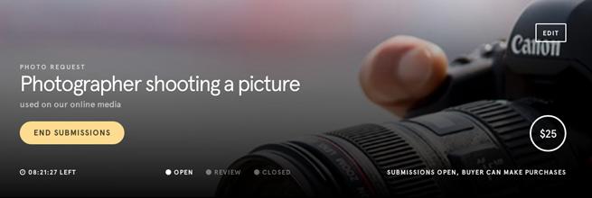 カメラマンが撮影しているかっこいい写真