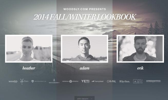 Woodsly 2014 Fall/Winter Lookbook