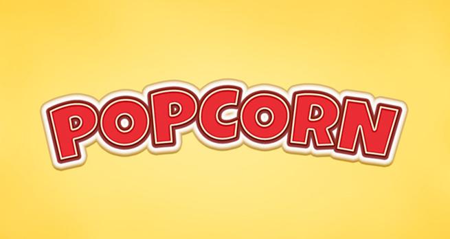 Popcorn Text Effect