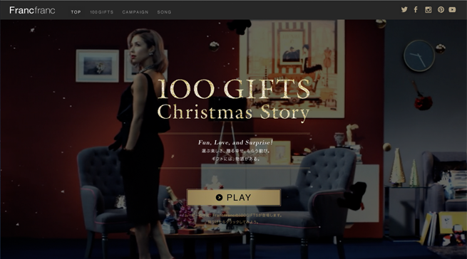 100 GIFTS Christmas Story
