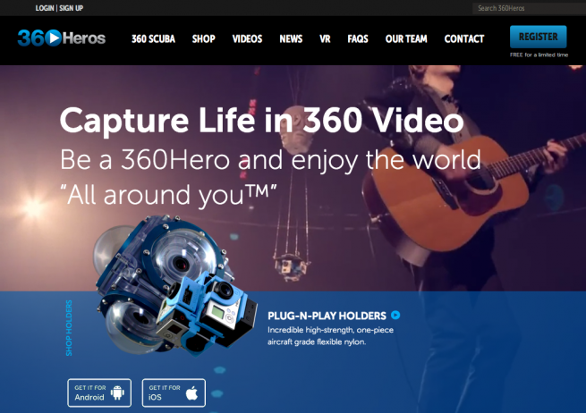 360Heros   All Around You   360 Video   Spherical Video