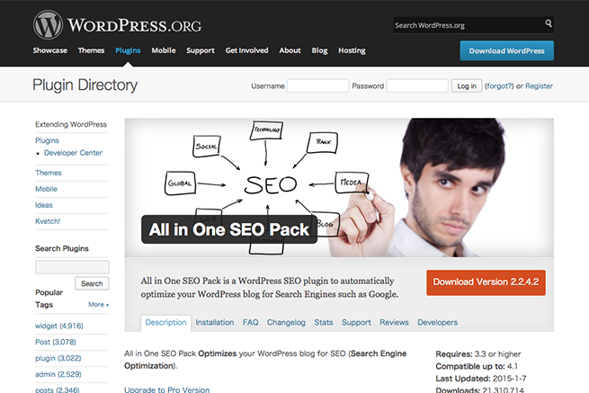 WordPress › All in One SEO Pack « WordPress Plugins
