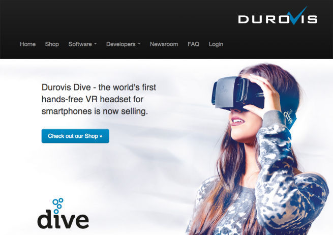 Durovis Dive   3D Virtual Reality Gaming on a Smartphone
