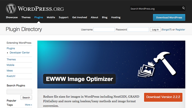 WordPress › EWWW Image Optimizer « WordPress Plugins