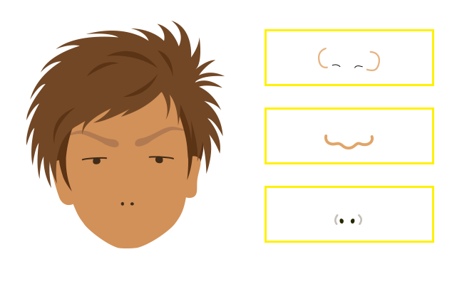 似顔絵のコツ書き方描き方illustratorで簡単に写真からイラストへ
