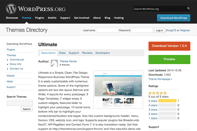 WordPress › Ultimate « Free WordPress Themes