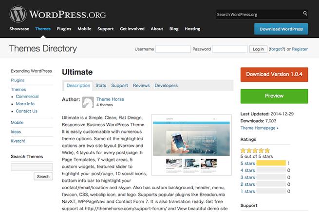 WordPress › Ultimate « Free WordPress Themes