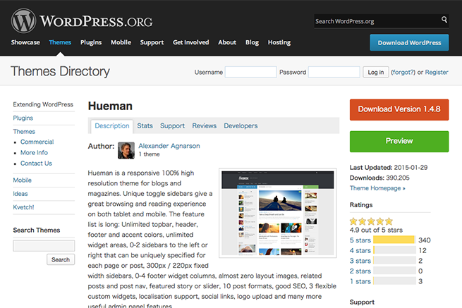 WordPress › Hueman « Free WordPress Themes