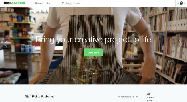 海外向けプロモーションで使いたいツール_Kickstarter