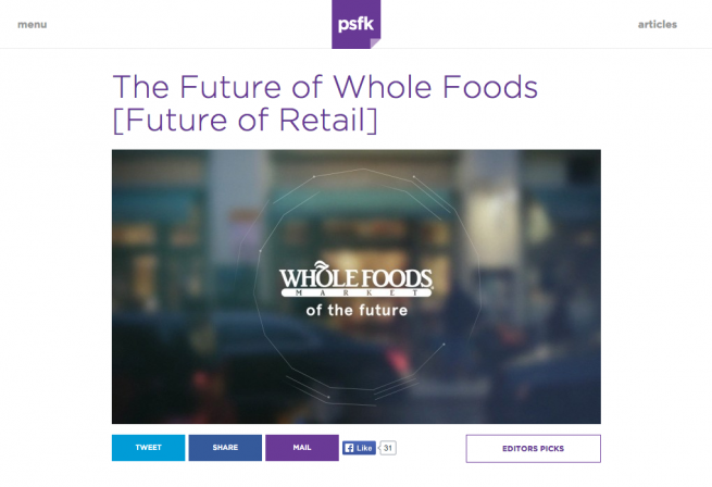 The Future of Whole Foods