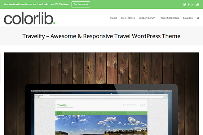 Travelify   Awesome   Responsive Travel WordPress Theme   Colorlib